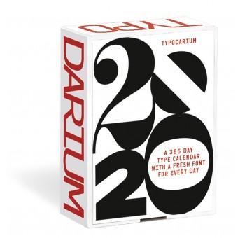 Verlag Hermann Schmidt Raban Ruddigkeit | Lars Harmsen Typodarium 2020 Ein Tages-Abreißkalender mit 366 frischen Fonts