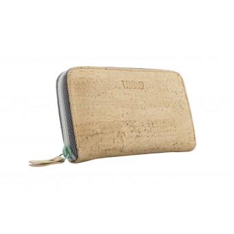 UlStO – PETREA Portemonnaie Kork Natur Mint