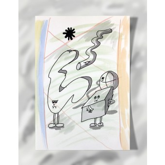 """DisplayThis  """"They've had it"""" I (DIN A4) Artprint auf Künstlerpapier"""