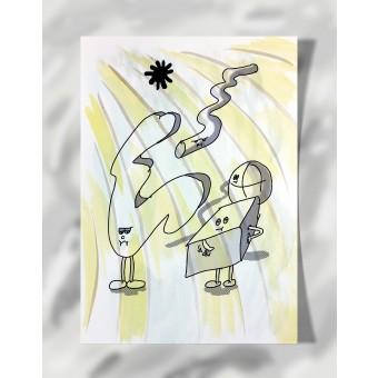 """DisplayThis  """"They've had it"""" II (DIN A4) Artprint auf Künstlerpapier"""