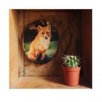 "madeva Holzliebe ""Fuchs im Wald"""