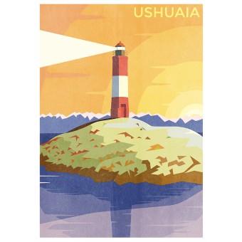 Haus der Riso - Ushuaia - A3 Risograph-Druck