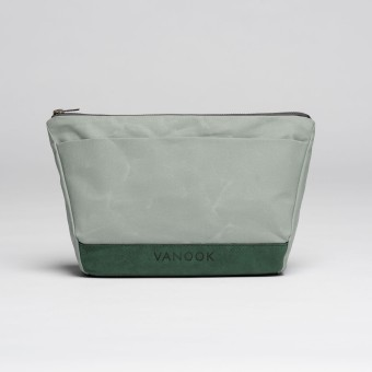 VANOOK Wash Bag Oyster / Malachite