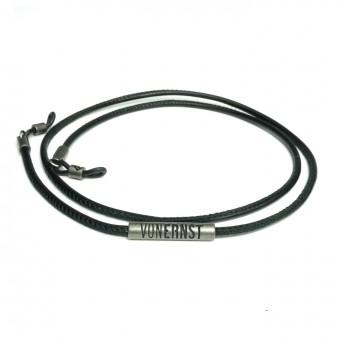 VONERNST Leder Brillenband  schwarz