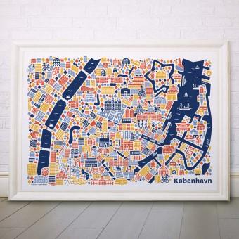 Vianina Kopenhagen Poster 100x70