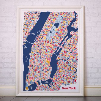 Vianina New York Poster 70 x 100