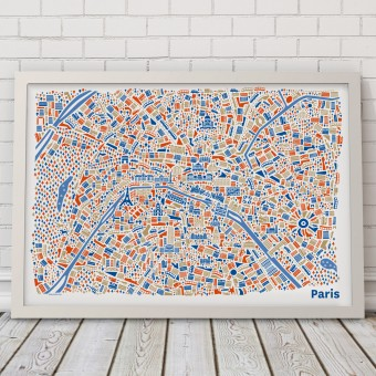 Vianina Paris Poster 70 x 50