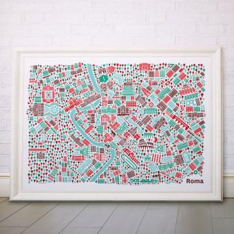Vianina Rom Poster 70x50