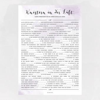 designfeder | Poster 70 Dinge zum gemeinsamen erleben