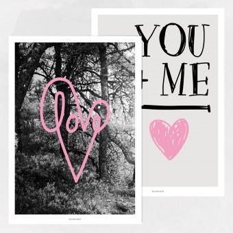 designfeder | Poster Set love