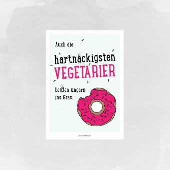 designfeder | Postkarte Donut