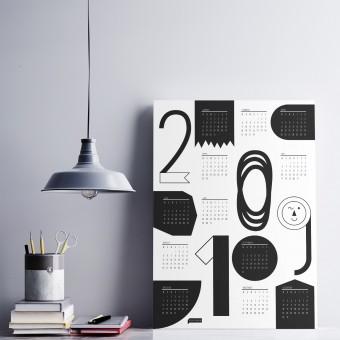 Knallbraun Wandkalender 2019 | Formenbau