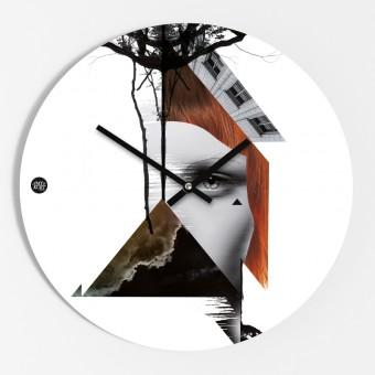 "Amy & Kurt Berlin Wanduhr ""Collage"""