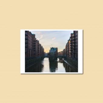 'Wasserschloss' Postkarte, DIN A6, klimaneutral gedruckt / Ankerwechsel Verlag