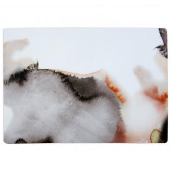 nuukk – Kleines Schneidebrett pink Aquarell