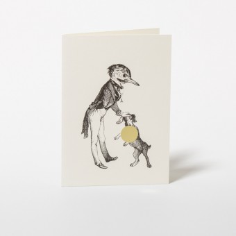 "Wednesday Paper Works KARTE GRANDVILLE ""MR. BIRD'S DOG"""