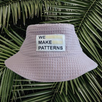 We Make Patterns - Bucket Hat Rosé