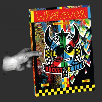 """Rocket & Wink   Whatever """"Northing Around"""" Artbook   Limited Edition"""