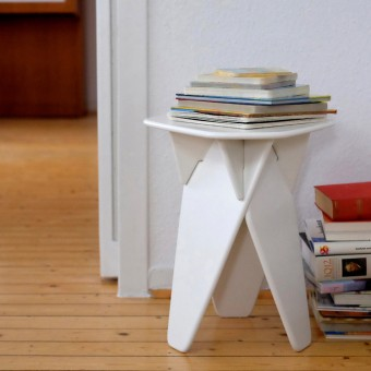 caussa   Wedge Table   weiss
