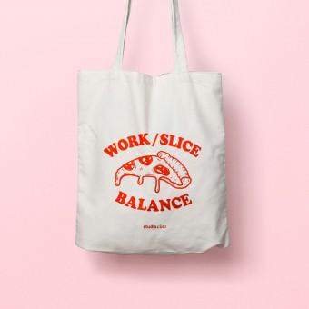 Work Slice Balance Jutebeutel – studio ciao