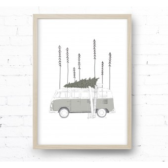 Kruth Design POSTER / WINTER VAN