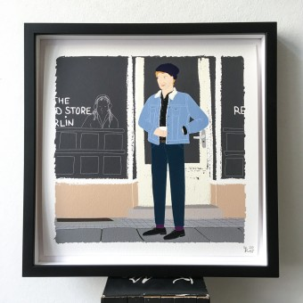 "Neighbour Series ""Neighbour No. 3"" – YUKY RYANG, Giclée-Druck, Format 28 x 28 cm"