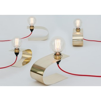 LJ LAMPS Zeta swing – Leuchte aus Messing