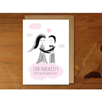 """Perunoto Glückwunschkarte """"Zur Hochzeit"""""""