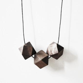 nahili KETTE geometric wood