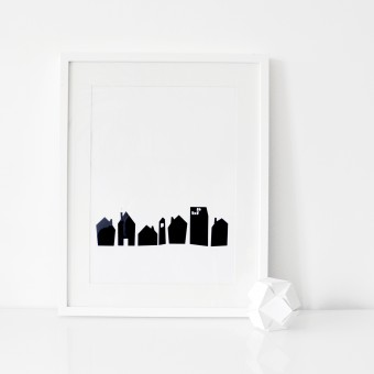 na.hili A3 Print - No place like home Poster