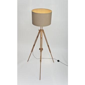 LJ LAMPS gamma - Staffelei Stehleuchte mit Textilkabel