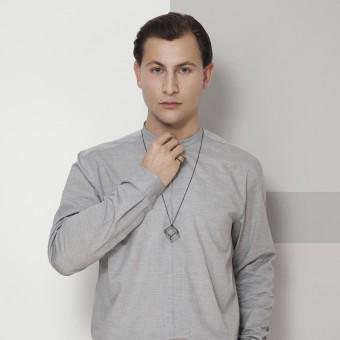 B KREB jewelry - CUBE necklace M
