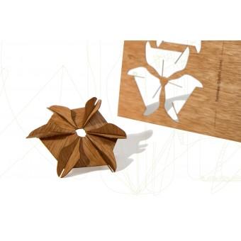 formes Berlin Flügelsternkarten - 6 Postkarten aus Holz