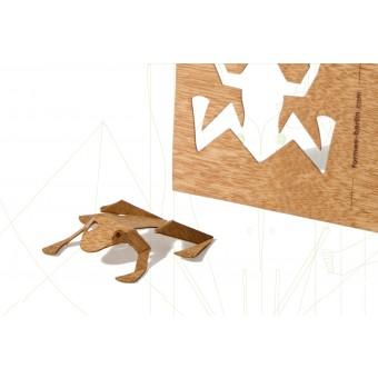 formes Berlin Froschkarten - 6 Postkarten aus Holz