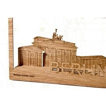 formes Berlin BrandenburgerTor-karten - 6 Postkarten aus Holz