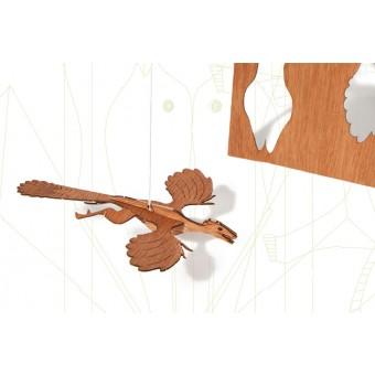formes Berlin Archaeopteryx-Karten - 6 Postkarten aus Holz