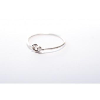 THONYN ZACK // Knoten Ring aus 925 Sterling Silber