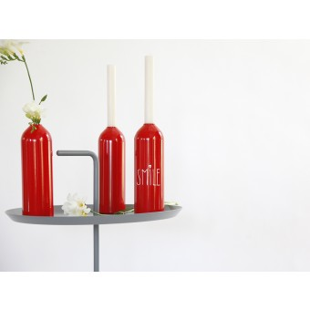 werkvoll by Lena Peter -  Kerzenhalter/Vase FIRE rot