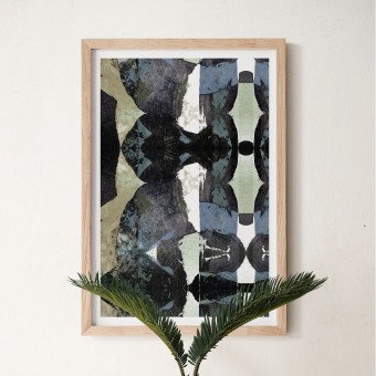 formwiese »Tunnelblick« (nachhaltiges A2 Poster, Recyclingpapier, vegan, abstrakt)