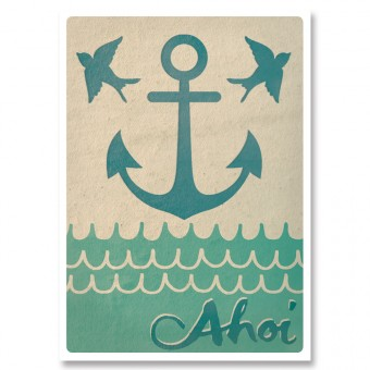 great-handmade *Ahoi! Postkarten Set