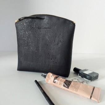 Grotkop Collection Kosmetiktasche AIR KORK groß, schwarz