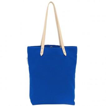 alvaGold Luna Recyclingtasche aus wiederverwendetem Markisentuch/Leder (hellblau)