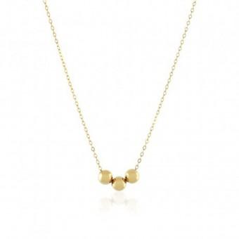 Anoa Kette '3 Perlen'