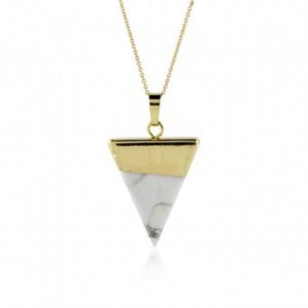 Anoa Kette 'marmoriertes Dreieck'