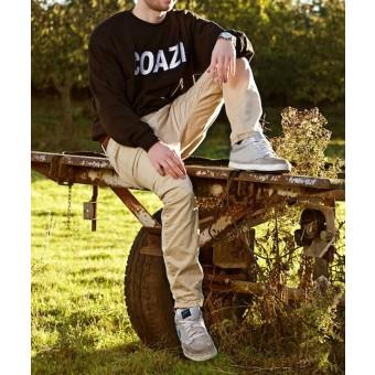 Coazi Label Sweater Black