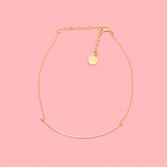 fejn jewelry - Armband 'curved'
