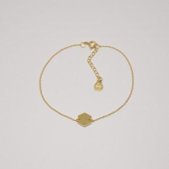 fejn jewelry - Armband 'hexagon'