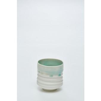 """Annika Schüler - porcelain Becher """"Seegras"""""""