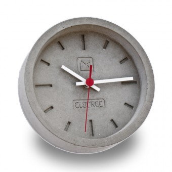 Ambientshop Clocroc Wanduhr aus Beton -  Aviation Small: