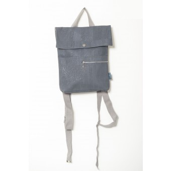 ein garten – corkskin backpack myrto mini dusty blue
